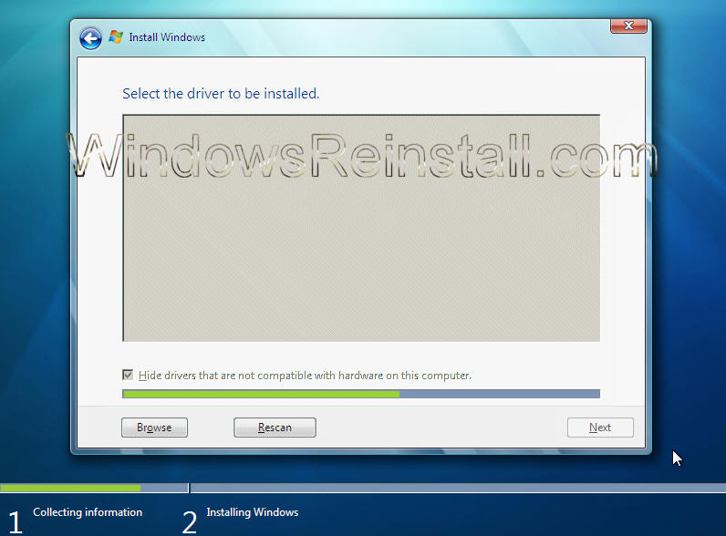 how to wipe a computer clean without cd windows 7
