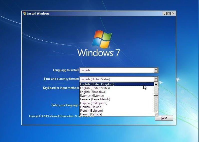 window 7 installation file download