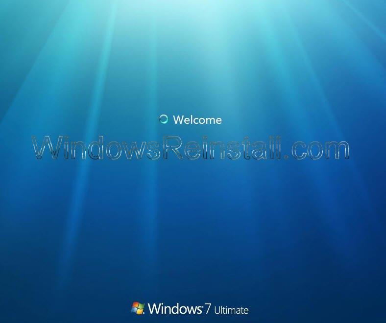 windows reinstall: